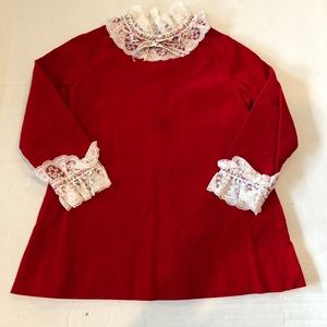 Vintage Neiman Marcus red dress